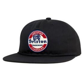 ブリクストン スナップバックキャップ ブラック 帽子 [返品・交換対象外]