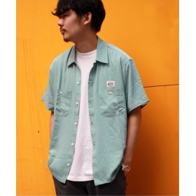 JOURNAL STANDARD 【COWDEN】レーヨンワークシャツ グリーン E L