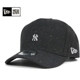 オンスポッツ別注 ニューエラ スナップバックキャップ ニューヨーク ヤンキース ウール ネップ ダンガリー ブラック 帽子