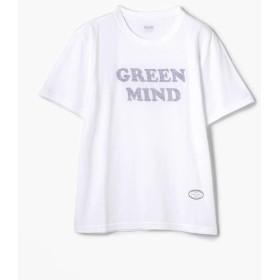 トゥモローランド TANG TANG REVERSE GREENMIND Tシャツ レディース 12ホワイト系 M 【TOMORROWLAND】