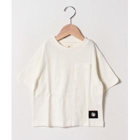 アンド ルームス ビッグTシャツ レディース オフホワイト 80 【&rooms.】