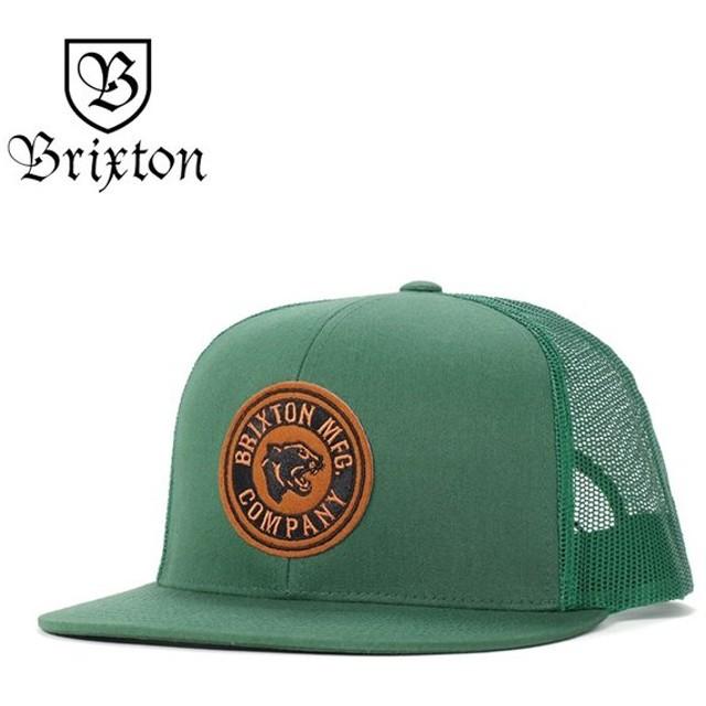 ブリクストン メッシュキャップ 帽子 FORTE MP リーフ BRIXTON メンズ