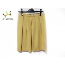 トゥモローランド TOMORROWLAND スカート サイズ38 M レディース ベージュ プリーツ     スペシャル特価 20190731