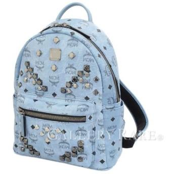 エムシーエム バックパック スタッズ ブルー MMK6SVE19LE001 MCM リュックサック リュック