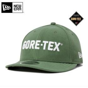 ニューエラ ゴアテックス スナップバックキャップ LP 9FIFTY ロゴ グリーン NEW ERA GORE-TEX