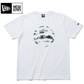 ニューエラ Tシャツ バイザーステッカー ホワイト (MB)