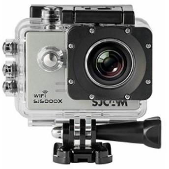「正規品」SJ5000X スポーツカメラ WiFi搭載 30m防水 170度広角レンズ 4K 1080P 液晶画面 HD動画対応 ハルメット式 バイクや...