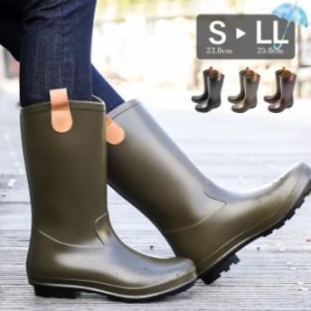 送料無料 ロング レインブーツ レディース 防水 通勤 農作業 フェス 長靴 大人 おしゃれ 雨靴 靴 雪 雨 梅雨 大きいサイズ 黒 ry470