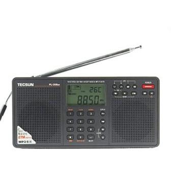 BCLラジオ PL-398MP 高感度 短波ラジオ 短波/AM/FMステレオラジオ MP3再生(SDカード) アイ・ダイレクトオリジナル 日本語取扱説 ...