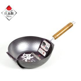 パール金属 HB-4289 窒化鉄 軽くてサビにくい 鉄のいため鍋 24cm 日本製 IH対応