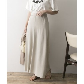 URBAN RESEARCH(アーバンリサーチ) スカート スカート シルクネップリブロングスカート【送料無料】