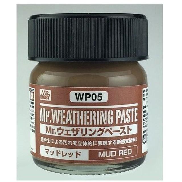 WP05 Mr.ウェザリングペースト マッドレッド GSI クレオス/新品