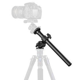 三脚ブーム カメラ延長アーム 縮長32cm 耐荷重5kg 固定&折り畳み&高さ調節可能 傾斜回転 マクロ撮影 一眼レフカメラ用