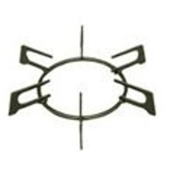 リンナイ ガステーブル専用部品 ごとく[大サイズ]※左右共通(黒) 010-320-000