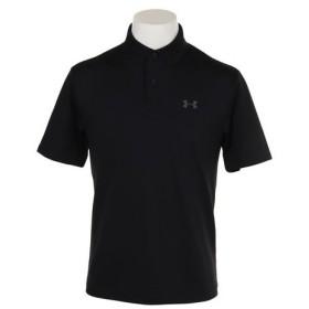 アンダーアーマー(UNDER ARMOUR) ゴルフウェア メンズ ポロシャツ #1342080 BLK/PCG GO (Men's)