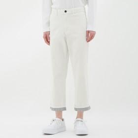 (GU)イージークロップドチノ WHITE L