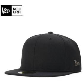 ニューエラ キャップ 帽子 59FIFTY METAL FLAG LOGO ブラック/シルバー NEW ERA メンズ