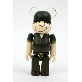 ベアブリック/BE@RBRICK 100% DR.ROMANELLI DRX ARMY beetle bailey メディコムトイ/中古