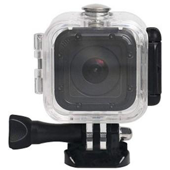 GoPro Hero Session 5/4 専用60M水中 ダイビング 防水 カメラ 筐体 保護 カバー 12個の防曇インサート