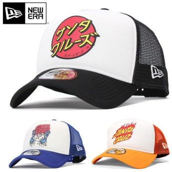 NEW ERA ニューエラ 9FORTY A-Frame Trucker Santa Cruz キャップ
