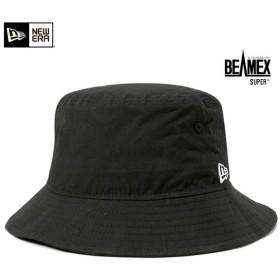 ニューエラ バケットハット 帽子 NEW ERA ブラック