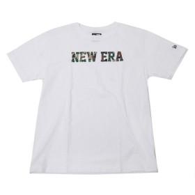 ニューエラ NEW ERA Tシャツ ロゴ セルフディフェンスカモ ホワイト 迷彩柄 (MB)
