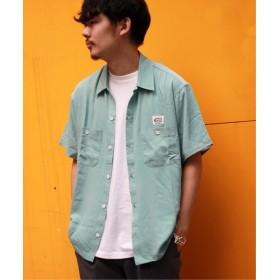 JOURNAL STANDARD 【COWDEN】レーヨンワークシャツ グリーン E M