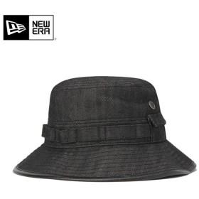 ニューエラ アドベンチャーハット 帽子 NEW ERA デニム ブラック メンズ レディース