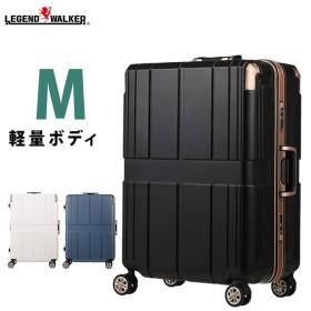 ee56da4836 スーツケース バッグ キャリーバック キャリーケース フレームタイプ 旅行かばん ダブルキャスター トランクキャリー M