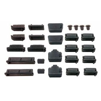 パソコン デジタル家電用 各種コネクタ防塵・保護カバーキャップ 26個 MF-CAP9-26B 送料無料