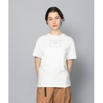 SENSE OF PLACE(センスオブプレイス) トップス Tシャツ・カットソー ボックスロゴプリントTシャツ(半袖)
