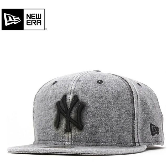 ニューエラ キャップ 帽子 NEW ERA 59FIFTY スウェット MLB ブラック メンズ レディース