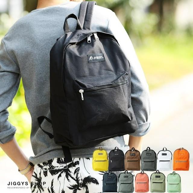 リュックサック バックパック バッグ メンズ Everest カラーバッグ 鞄 カバン
