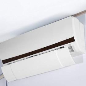 エアコン風よけカバー エアコン風向き調整板 オフィス エアコン 風よけ エアコン 吹き出し口 風よけ オフィス 家庭用 落下防止  ...