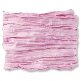 くしゅくしゅふんわりが素敵な兵児帯(へこおび)〈ピンク〉 フェリシモ FELISSIMO【送料:450円+税】