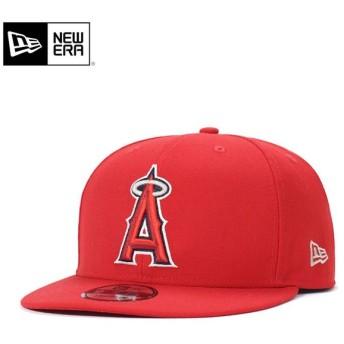 ニューエラ キャップ 帽子 スナップバック 9FIFTY ANGELS COLLECTION MLB ロサンゼルス エンゼルス オブ アナハイム スカーレット NEW ERA メンズ