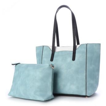 フィラノFIRANO【InRed掲載】アクセントカラーポケット2WAYバッグ-BLUE-Free(BLUE)