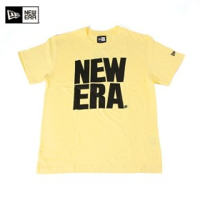 ニューエラ NEW ERA Tシャツ ビッグ ロゴ ベーシック イエロー (MB)
