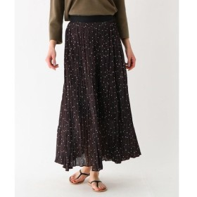DRESSTERIOR / ドレステリア デシンドット プリーツスカート