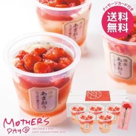 母の日 プレゼント スイーツ ブランド 洋菓子 ギフト セット 博多あまおう たっぷり苺のアイス デザート アイスクリーム