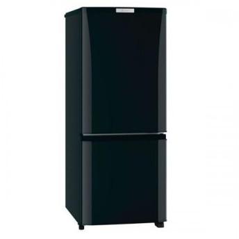 MITSUBISHI 冷蔵庫 146L 2ドア 右開き サファイヤブラック MRP15D-B 三菱