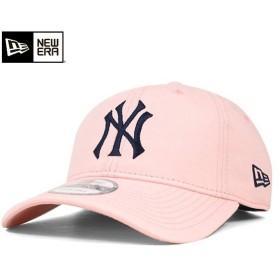ニューエラ キャップ ストラップバック ニューヨーク ヤンキース ウォッシュド コットン ピンクレモネード 帽子