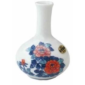 波佐見焼 泰仙窯 ミニ花瓶 牡丹 化粧箱入[300639]