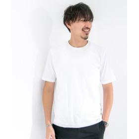 ROSSO(ロッソ) トップス Tシャツ・カットソー スーピマコットンクルーネックTシャツ