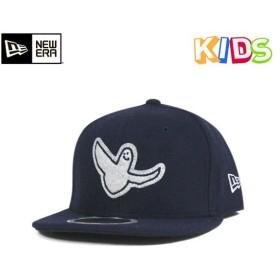 NEW ERA KIDS(ニューエラ キッズ) マーク ゴンザレス キャップ エンジェル メルトン ネイビー 帽子