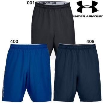 アンダーアーマー UA ウーブングラフィックワードマークショーツ 1320203 メンズ ショートパンツ 短パン トレーニングウェア