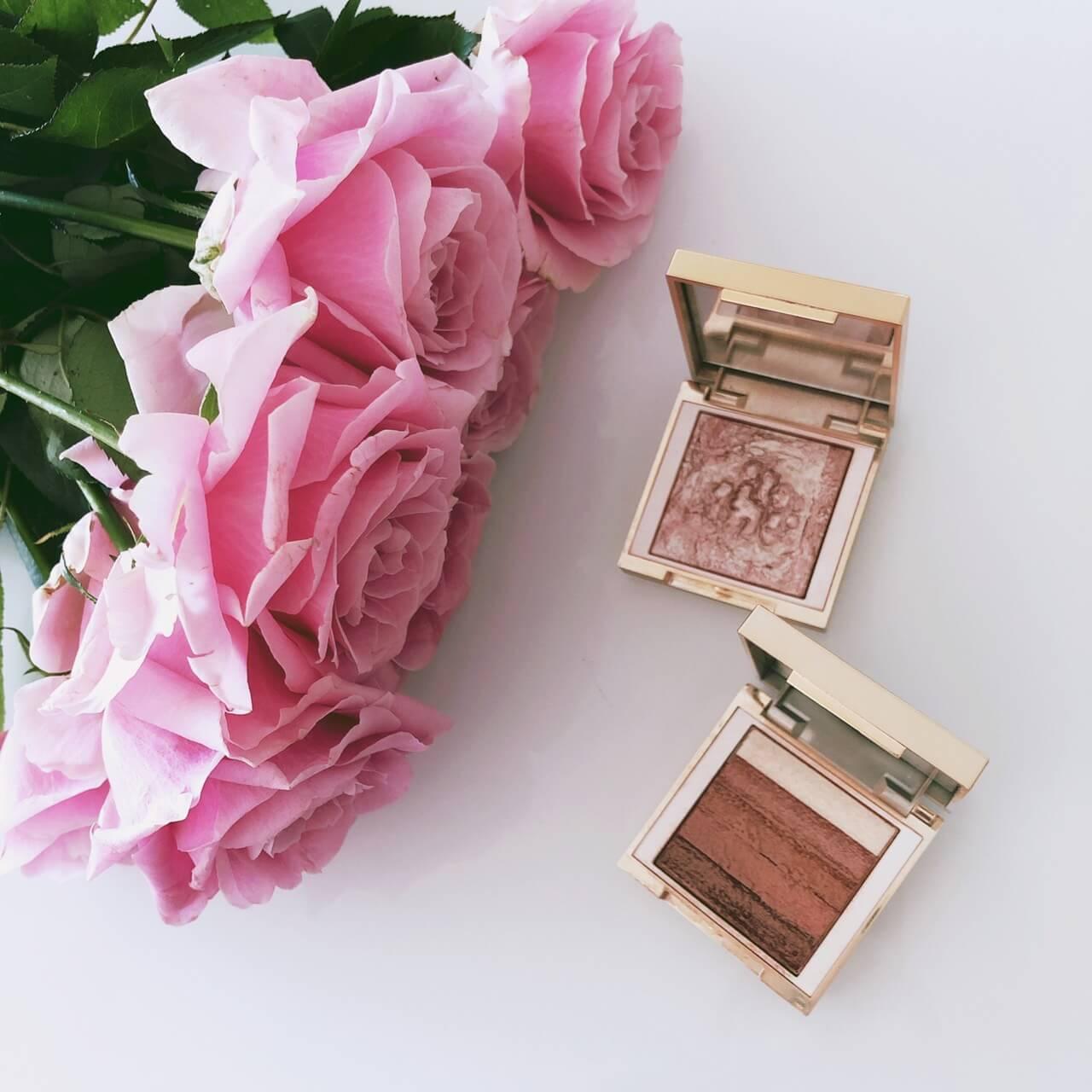 BOBBIE BROWN Mini Highlighting Powder PinkGlow、Mini Shimmer Brick Compact