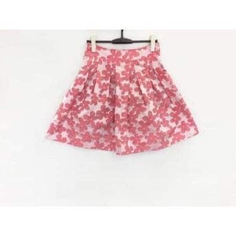 【中古】 アネット Annette スカート サイズM レディース ライトピンク ピンク 花柄