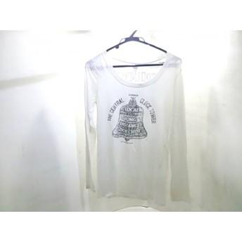 【中古】 マウジー moussy 長袖Tシャツ サイズ2 M レディース 白