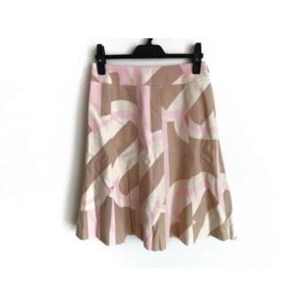【中古】 イエナ IENA スカート サイズ36 S レディース アイボリー ベージュ ピンク